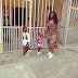 MPNAIJA GIST:Timaya's Baby Mama And Their Daughters Step Out In Style (Photos )