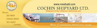 Cochin Shipyard Recruitment 2013