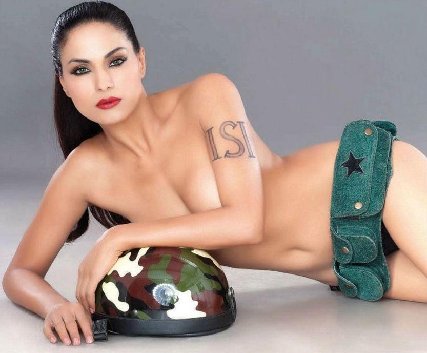Latest Movie Masala Veena Malik Semi Nude Photos In Fhm -1573