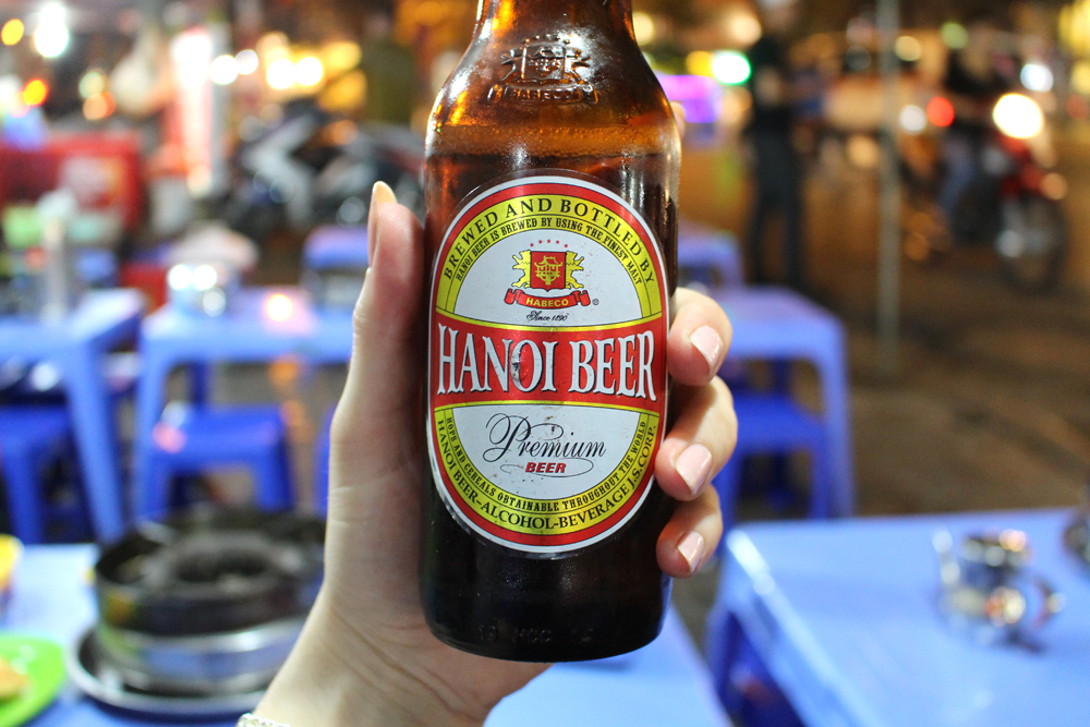 Hanoi beer, Vietnam - lifestyle & travel blog