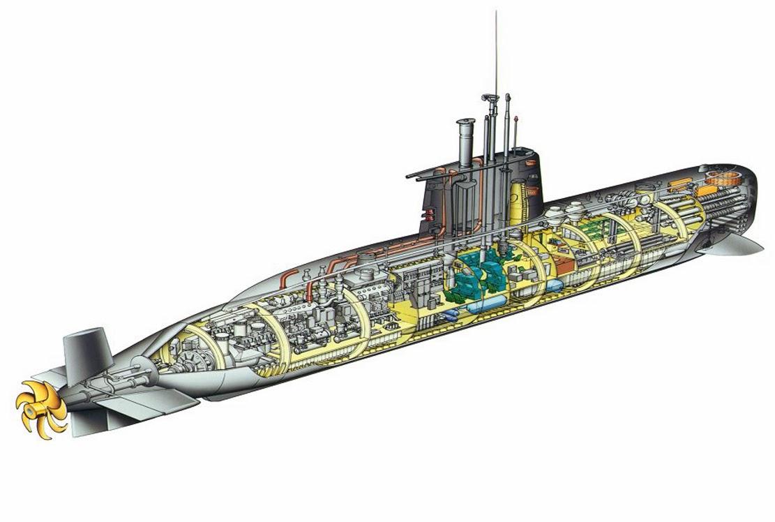 Kapal Selam Tipe U-209 Changbogo Class