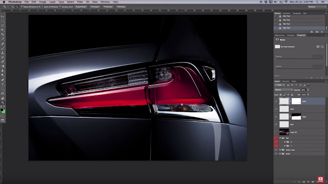 How To Create Fake Car Reflections In Photoshop