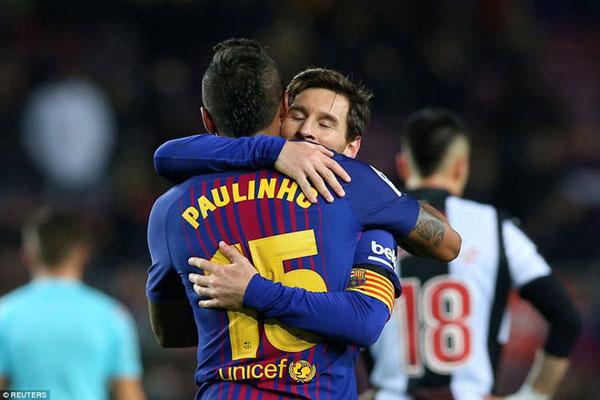 Barca đại thắng: Messi cán mốc lịch sử, thăng hoa rực rỡ 4