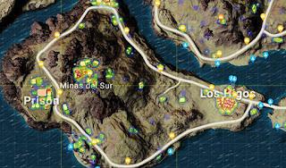 alfisbu lokasi mendarat pubg mobile miramar terbaik