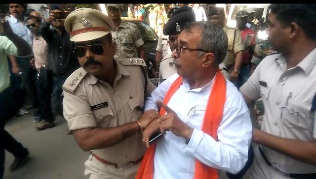 Big Breaking:-बीजेपी नेता पूरन छाबरिया कलेक्ट्रेट से गिरफ्तार,मचा हड़कंप..