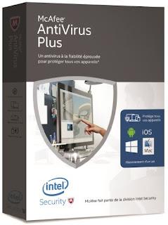 افضل برامج مكافحة الفيروسات برنامج McAfee AntiVirus Plus 2016