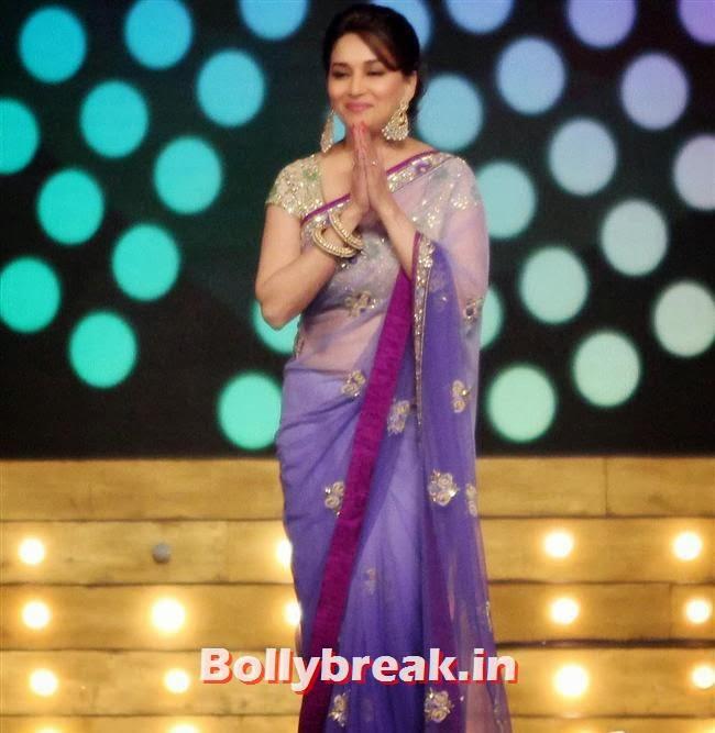 Madhuri Dixit, Bollywood Celebs at Umang Police Show 2014