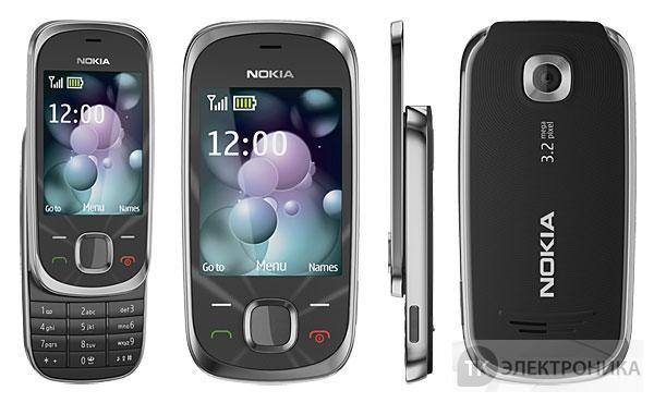 Мобильный телефон Nokia 7230 Black