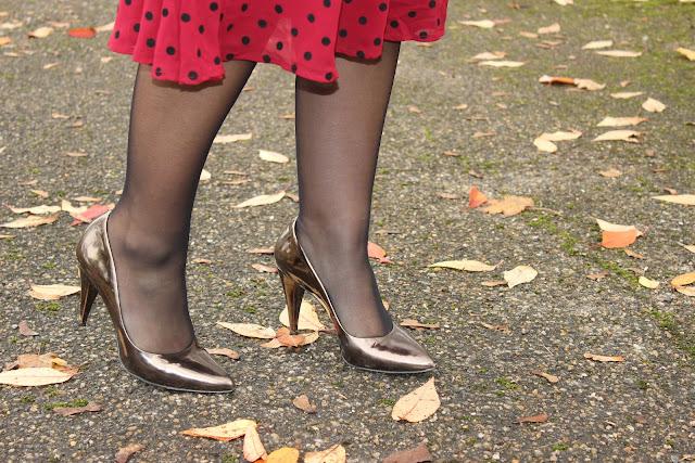 polka dots les petites bulles de ma vie look, fashion