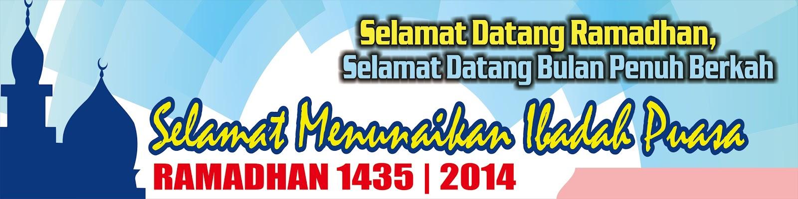 Contoh Desain Spanduk Ramadhan Keren Format Cdr Ucorel
