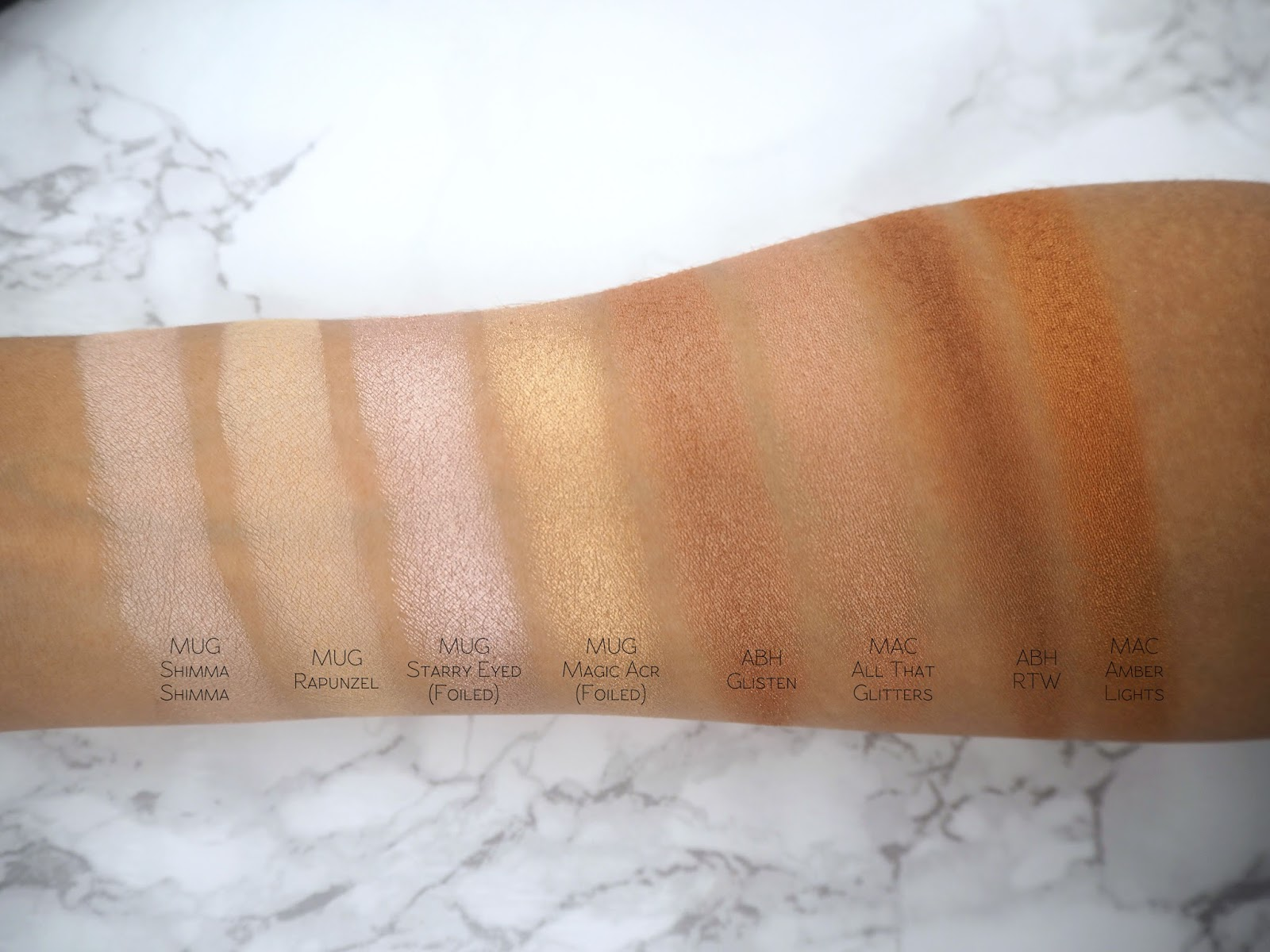 Makeup Geek Homecoming - This is one of my go-to everyday shades; it just always works! It's a brown shimmer with a bronze undertone, however it's not too ...