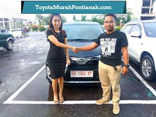 Pak Ary Fahriansyah beli Calya 1.2 G M/T warna hitam - Harga Toyota di Pontianak