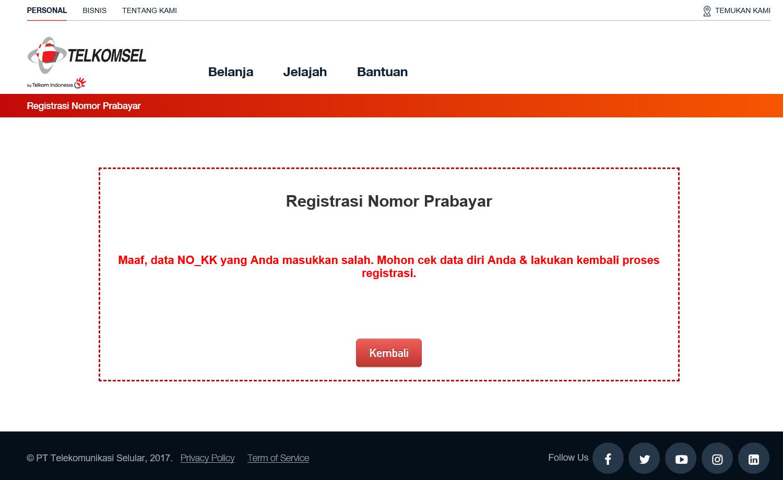 Cara Cek Nomor Kk Di Dukcapil Untuk Registrasi Prabayar Teknoreview