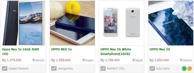 Kelebihan dan kekurangan Oppo Neo 5s