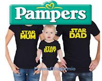 Logo Con Pampers puoi vincere 100 Family Set Baby Star del valore di 140€ ciascuno