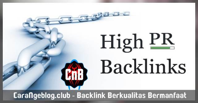 Backlink Berkualitas Sangat Bermanfaat bagi Reputasi Blog, 9 Sumber Backlinks Berkualitas untuk Blogger Pemula