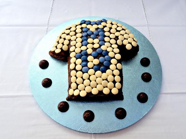 tarta-camiseta-futbol-chocolate-nutella-chocolatinas