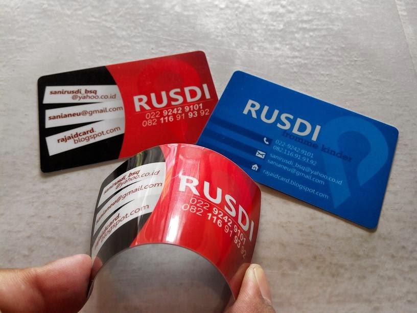 Cetak Kartu Nama Plastik / Kartu Nama ID Card