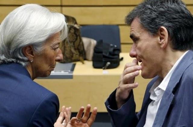 Ευκλ. Τσακαλώτος μετά τη συνάντηση με την Κρ. Λαγκάρντ: «Μετά την ανακεφαλαιοποίηση, ξεκινά ουσιαστική συζήτηση για το χρέος»