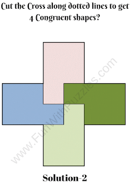 Cut the Cross Puzzle Solution-2