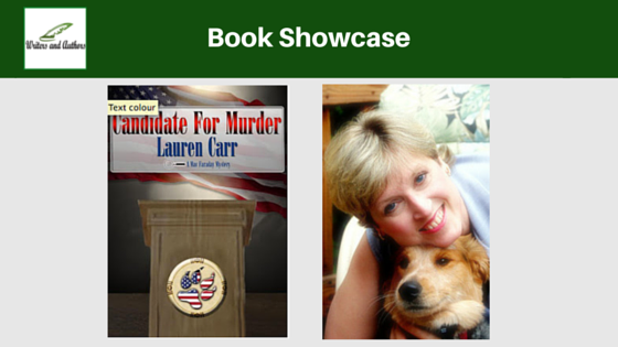 Book Showcase: Candidate for Murder by Lauren Carr @TheMysteryLadie @iReadBookTours