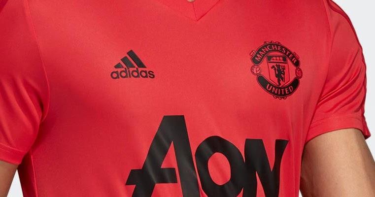 Pink Adidas Manchester United 18 19 Training Kit Leaked