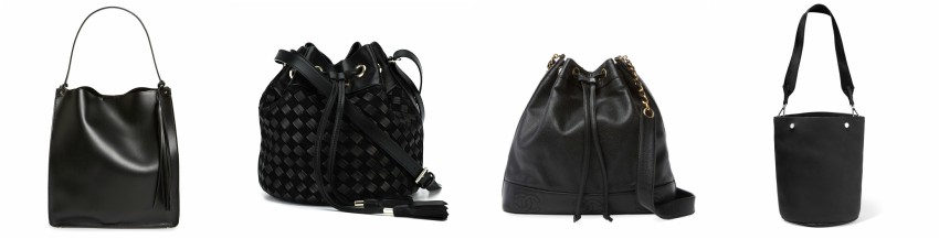 "Three of these bucket bags are from designers for thousands and one is from Sole Society for only $65. Can you guess which bag is the ""impostor""? Click the links below to see if you are correct!"