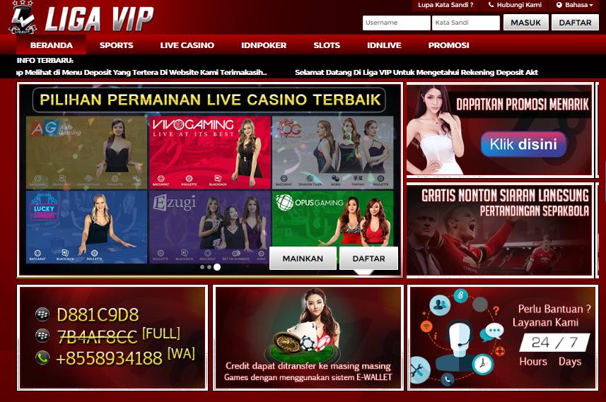 Ligavip Situs Agen Game Judi Poker Online Terlengkap