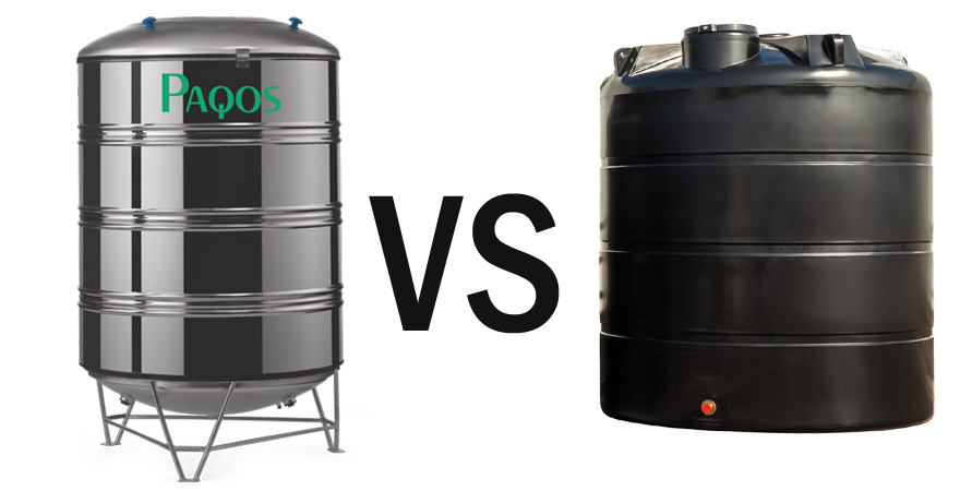 Stainless Steel Water Tanks vs Plastic Tanks When looking for a rainwater tank for your property you will find many tanks on the market that are made from ...  sc 1 st  Paqos.in & Stainless Steel Water Tanks vs Plastic Water Tanks | Paqos.in