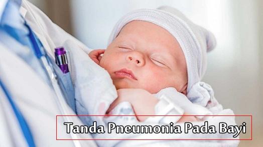 Tanda Pneumonia Pada Bayi