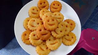 Resepi Kentang Goreng Senyum Rangup