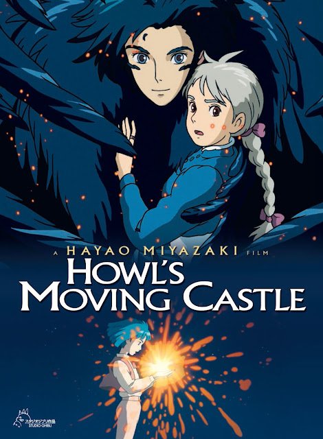 poster-anime-Howl's-Moving-Castle