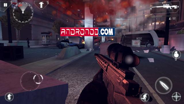 Modern Combat 4 Zero Hour v1.2.2e Mod Apk+Data Terbaru