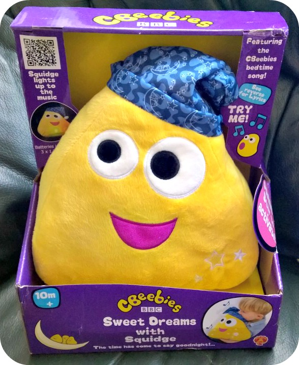 Golden Bear Toys cBeebies Sweet Dreams with Squidge