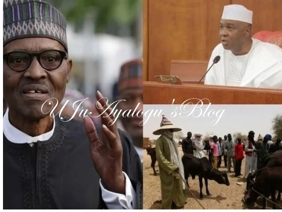 IPOB: Saraki's presence in the National Assembly is a threat to Nigeria's unity
