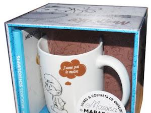 Mug cakes Schtroumf, Maya l'Abeille et Snoopy