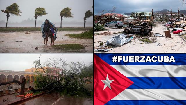 """Medios callan devastación del """"Huracán Irma"""" en Cuba y EE.UU. bloquea apoyo económico."""