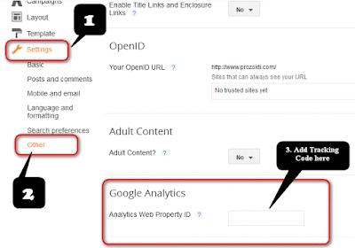 কিভাবে Blogger ব্লগে Google Analytics যুক্ত করতে হয়?