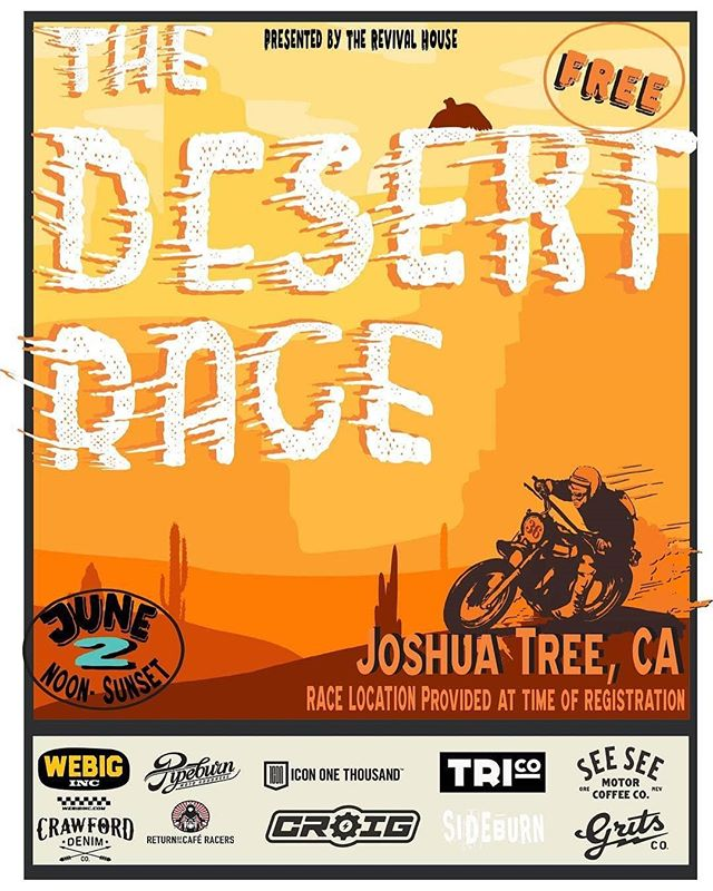 The Desert Race - Image by Revival House Official
