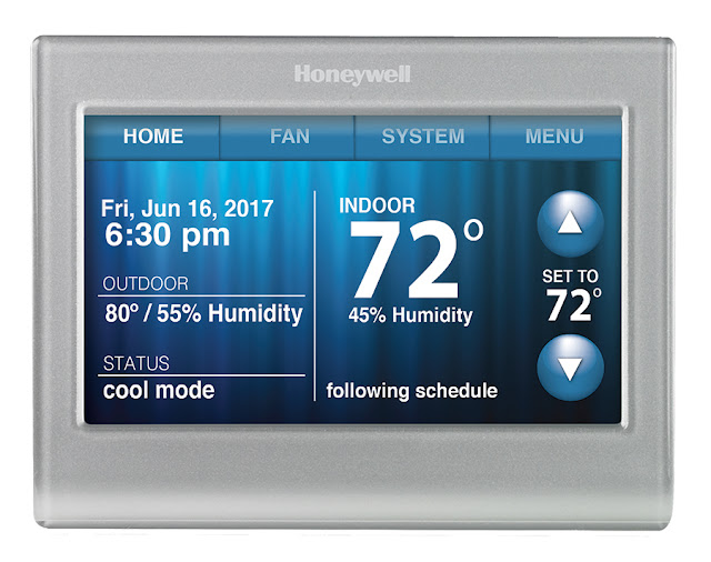 hither at the SSL Homestead as well as nosotros honey it Installing a Smart Thermostat to Save Energy