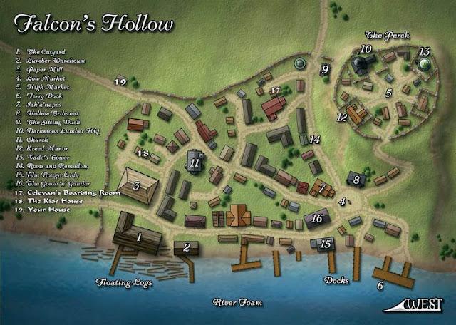 Sempre que possível use imagens para descrever lugares. Fica mais fácil para todos os jogadores entenderem como é o local.