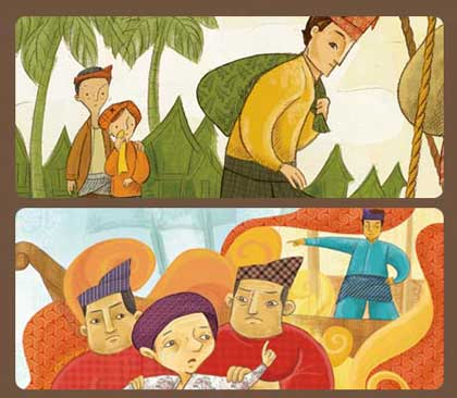 story telling bahasa inggris malin kundang