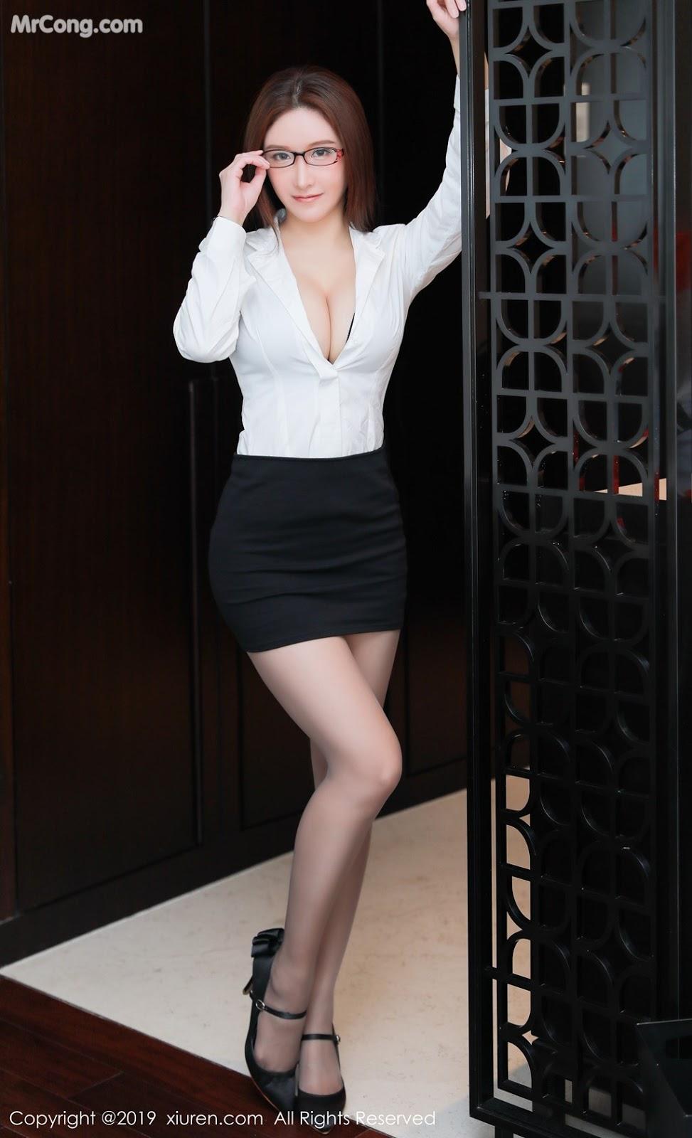 Image XIUREN-No.1457-Jenny-MrCong.com-005 in post XIUREN No.1457: 任莹樱 Jenny (46 ảnh)
