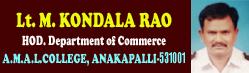 M.Kondala Rao