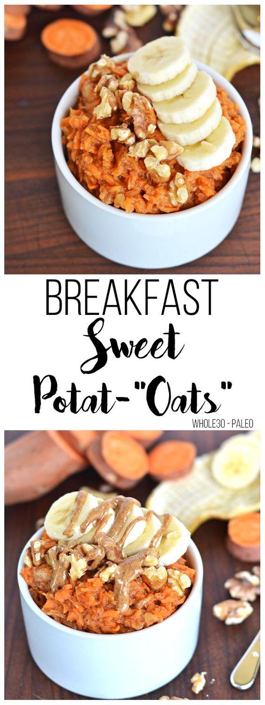 """Breakfast Sweet Potat-""""Oats"""""""