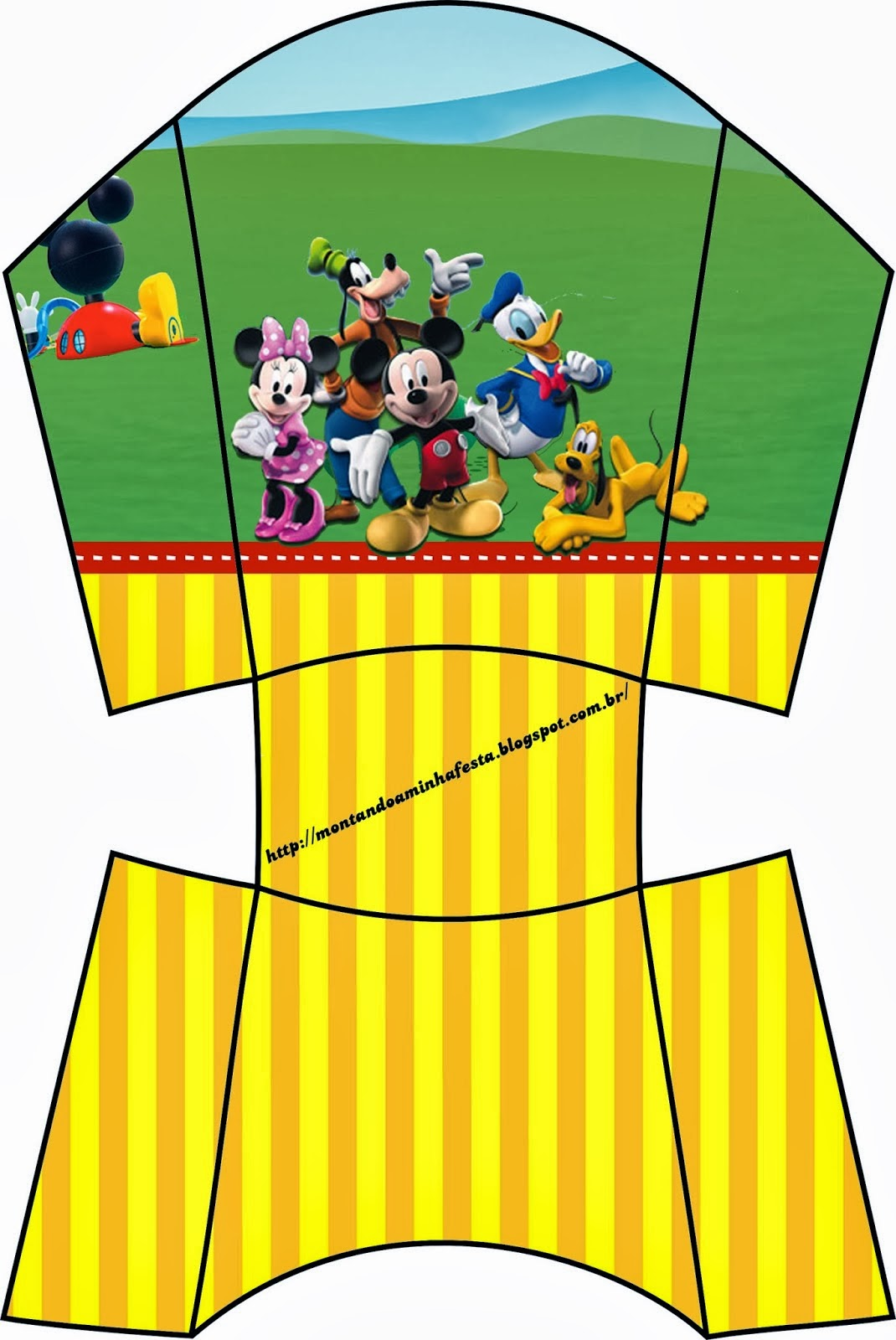 Mickey Clubhouse Free Printable Party Boxes Oh My