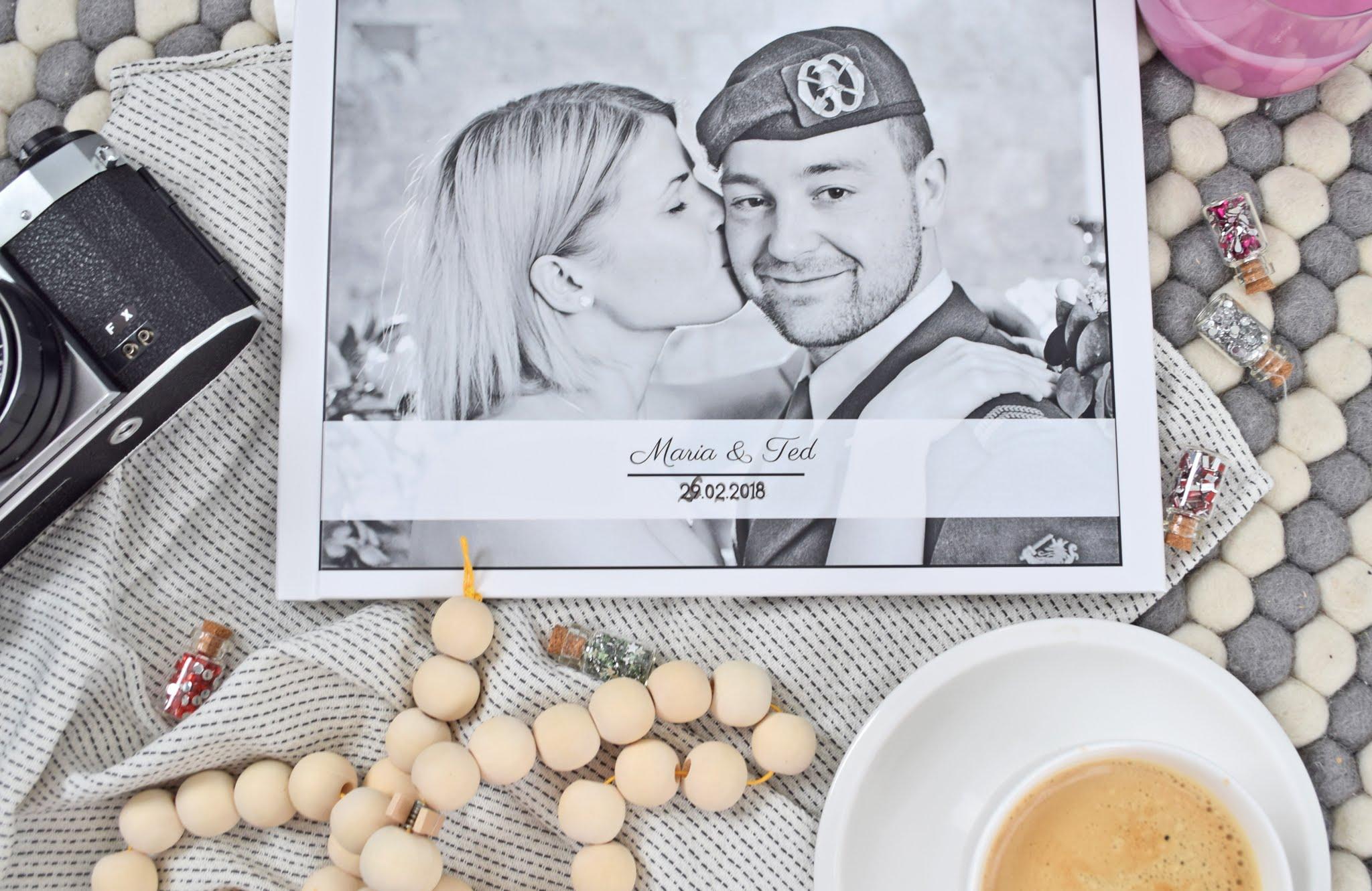 fotoksiążka ślubna okładka