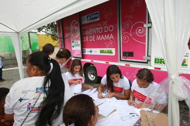 Rastreamento do Câncer de Mama chega a São José do Jacuípe e Várzea Nova