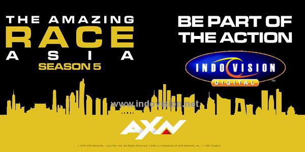 Cara registrasi dan audisi peserta The Amazing Race Asia season 5.