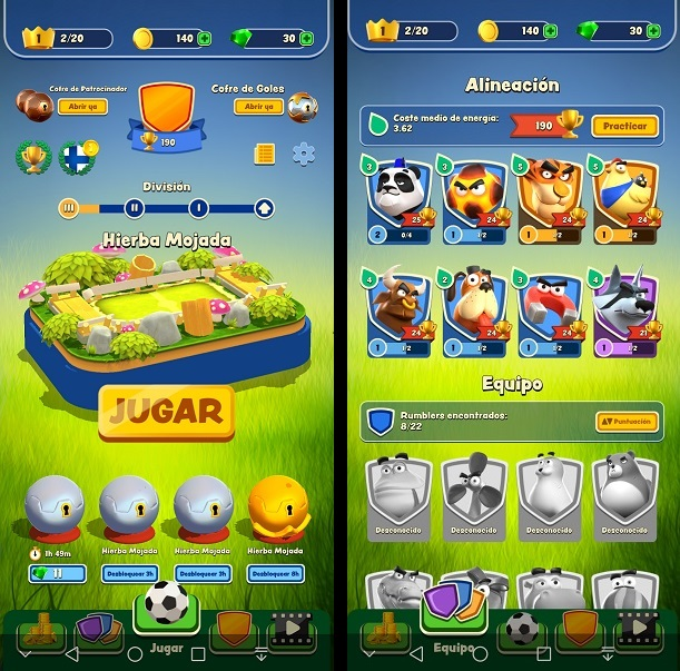ya disponible RUMBLE STARS SOCCER para Android